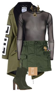 """""""Untitled #1104"""" by vladacatalleyag on Polyvore featuring Moschino, Dsquared2, adidas Originals and Chanel"""
