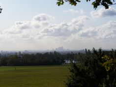 View of Londontown from Hainault Forest