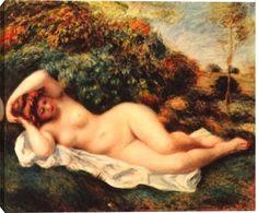 Reclining Nude (The Baker's Wife) by Pierre-Auguste Renoir