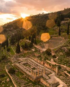 """1,370 """"Μου αρέσει!"""", 32 σχόλια - #Drone 💢 #Landscape 〽️ #Travel (@pallisd) στο Instagram: """"Tag a person to visit Delphi with! 🏛 • • • • #wu_greece #perfect_greece #kings_greece…"""""""