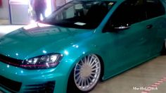 VOLKSWAGEN GOLF GTI TUNING - INTERNATIONAL PRAGUE CAR FESTIVAL