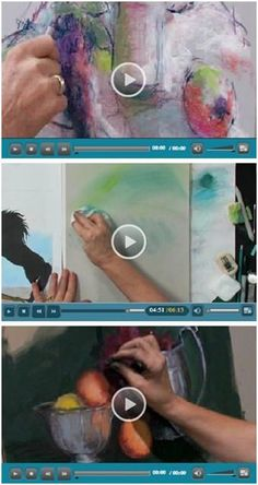 29 Free DIY Pastel Art Videos - Jerry's Artarama lets you enjoy a bunch of free pastel how-to video demonstrations by talented pastel artists. Beginner or advanced, you'll find helpful advice and techniques for your pastel portraits, landscapes, seascapes and still life art. (Photo: Pastel video demonstrations by Dick Ensing, Jillian Goldberg and Luana Luconi Winner ) Click through to learn while watching your favorite videos.