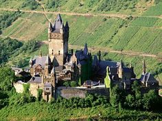 Reichsburg Castle, Mosel Valley, Germany.