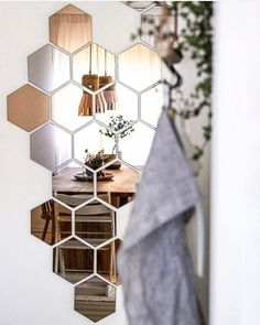 Hallway Any Room Complete Kit Bedroom Pack of Decorative Acrylic Circle Mirrors Living Room