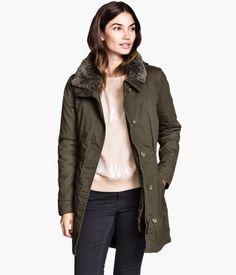 Lined Parka $59.95 @ H&M US - Hot Deals