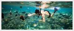 Snorkeling in Sainte Marie - Madagascar www.travelinmadagascar.com