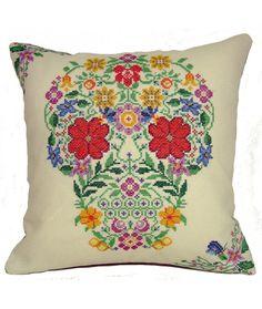 Floral-Skull-White-845x1000.jpg (845×1000)