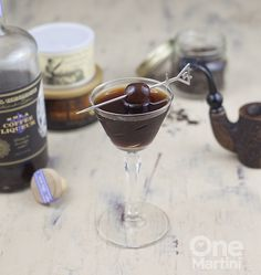 Get everyone in the Halloween party spirit with these tobacco road cocktails. Made with a mixture of vanilla, chicory root, and coffee flavored spirits, these drinks will be a party favorite.