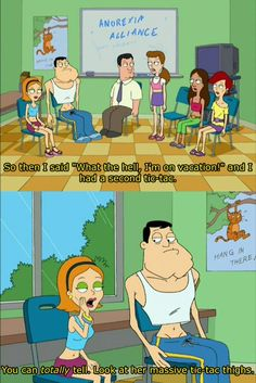 Oh,American Dad. You're my favorite Seth McFarlane creation :)