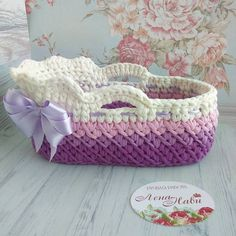 16 Trendy Ideas For Crochet Baby Doll Bed Clothes Patterns Baby Blanket Crochet, Crochet Baby, Knit Crochet, Baby Doll Bed, Baby Dolls, Diy Crochet Basket, Knitting Dolls Clothes, Crochet Winter, Crochet Slippers