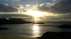 Spectacular Sunrise in Costa Teguise   via What´s Simon Saying