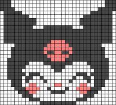 Alpha friendship bracelet pattern added by smile kawaii cute sanrio. Easy Perler Bead Patterns, Melty Bead Patterns, Perler Bead Templates, Kandi Patterns, Diy Perler Beads, Perler Bead Art, Alpha Patterns, Canvas Patterns, Beading Patterns