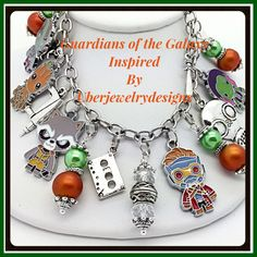 Guardians of the Galaxy Jewelry Inspired Bracelet by Uberjewelrydesigns by Uberjewelrydesigns on Etsy