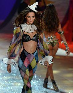 2012 Victoria's Secret fashion show. Circus Section.