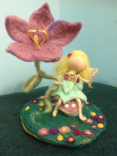 I just loved fairies as a little girl.