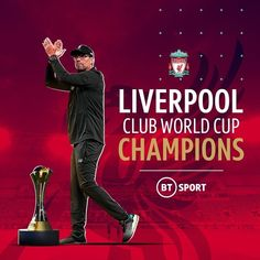 are Club World Cup Champions 🏆 The only trophy missing from their cabinet has been found 🔴 -------------------- Liverpool Club, Liverpool Champions, Club World Cup Final, Juergen Klopp, World Cup Champions, Bt Sport, You'll Never Walk Alone, Physical Fitness, Rotterdam