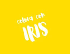 """Check out new work on my @Behance portfolio: """"Colora con Iris"""" http://be.net/gallery/54187037/Colora-con-Iris"""