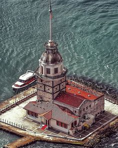 Maiden's Tower✨Istanbul✨Turkiye – 2020 World Travel Populler Travel Country Visit Turkey, Istanbul City, Hagia Sophia, Turkey Travel, Karting, Antalya, Places Around The World, Cool Places To Visit, Empire State Building