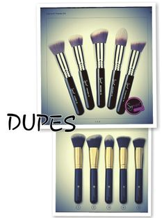Sigma Face Brushes DUPE BH Cosmetics Sculpt and Blend Brush Kit.