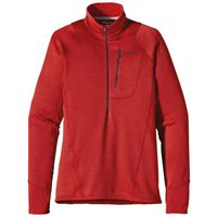 Patagonia R1 Fleece Pullover  Mens  Cochineal Red  Tempest Purple