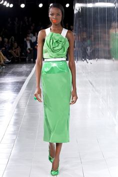 Prabal Gurung Spring 2014 Ready-to-Wear Collection Slideshow on Style.com. spring green!