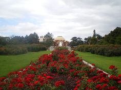 Exposition Park Rose Garden - Adjacent to the California Science Center and the Natural History Museum of Los Angeles, and across the street from USC.