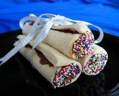 Nutella Sandwich Rolls Recipe - Australian.Food.com: Food.com