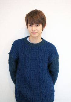 First Crush, Nihon, Asian Actors, Men Sweater, Pullover, Beautiful, Fashion, Fungi, Actors