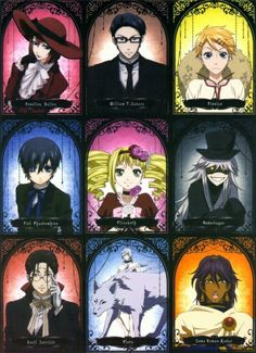 Black Butler cast