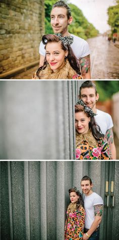 Gorgeous 1950s Rock 'n' Roll & Rockabilly Engagement Shoot | Bride Bubble - The Ultimate Wedding & Style Blog http://www.bridebubble.co.uk/gorgeous-1950s-rock-n-roll-engagement-shoot/