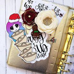 Using today's freebie in my Christmas planner 😍 xxx Kikki K, Planner Layout, Planner Decorating, Paper Clip, Planner Stickers, Planners, Christmas, Notebooks, Diys