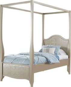 Affordable Canopy Twin Beds Girls Room Furniture My Imaginary