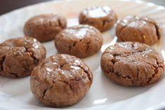 Salted Caramel Hot Chocolate Cookies!