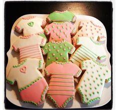 My favors onesie sugar cookies