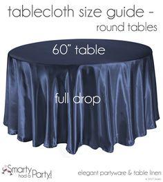 9 best tablecloth size guide images banquet tables tablecloth rh pinterest com