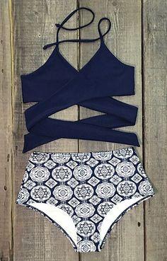 5a9c4f913dce7 Buy retro boho flounce high waist bikini Swimsuits For Teens