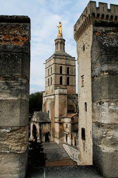 Avignon, France. Palais des papes