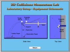 VIDEO: Physics - 2D Collisions Lab Software