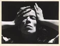 The famous Martha Graham  by Imogen Cunningham  1931. Materials/Techniques: Gelatin Silver Print    Description  Unsigned original photograph. Accompanied by letter of authenticity signed by her son, Rondal Partridge. 1931. Price of this incredible photo is between 10-25,000 dollars.