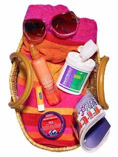 Your beach bag beauty essentials