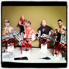 More WWE CenterPieces!!!