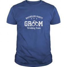 Groom drinking team