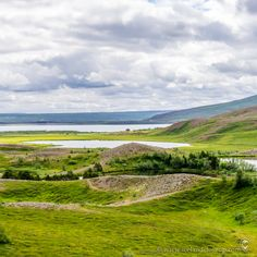 Stórutjarnir, northeastern region of Iceland. North Iceland, Iceland Landscape, Volcano, Amazing Nature, Close Up, Picture Video, Northern Lights, Things To Do, Golf Courses