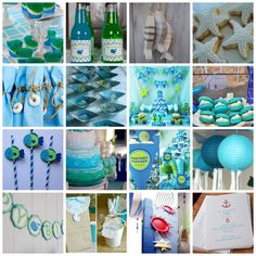 The Call of the Sea – Styling and Ideas for a Childs Ocean themed Party