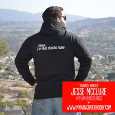 'Storage Hunter' Jesse McClure giving some stateside My Hangover Hoody loving! You rock! :D :D