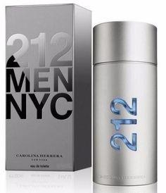 212 Men Caballero Carolina Herrera 200 ml Edt Spray Carolina Herrera 212, 212 Man, Voss Bottle, Water Bottle, Nyc, Best Perfume, Perfume Collection, Cologne, Style