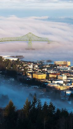 Beautiful Astoria, Oregon via keenah whisnant