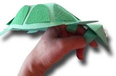 Here is a neat elaborate turtle finger puppet. :) Jodi from the Clutter-Free Classroom www.CFClassroom.com