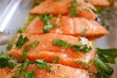 Recette de saumon au four, simple et rapide