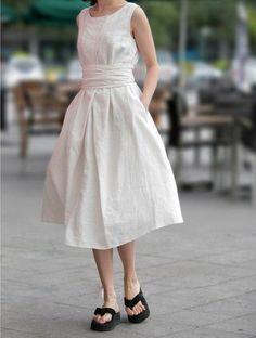 White Skirts women skirt fashon skirts Long by fashiondress6